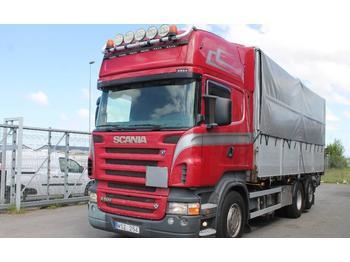 Scania R 500 LB 6X2*4HNB Tippbil  - billenőplatós teherautó