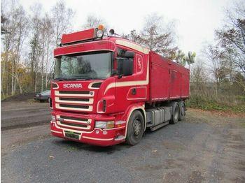 Billenőplatós teherautó Scania R 500 V8,3-Seiten-Getreide-Kipper, Handschalter