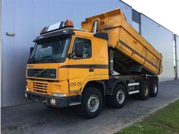 Volvo FM12.420 8X4 FULL STEEL MANUAL HUB REDUCTION EUR  - billenőplatós teherautó