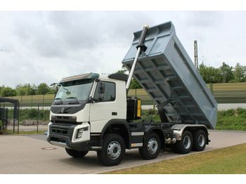 Billenőplatós teherautó Volvo FMX 430 8x4 / EuromixMTP TM18 HARDOX