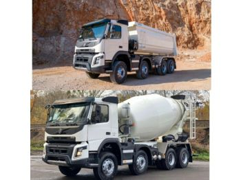 Billenőplatós teherautó Volvo FMX 430 8x4 WECHSELSYSTEM KIPPER+MISCHER