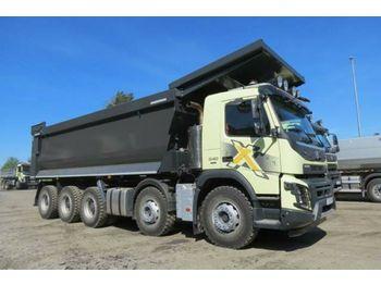 Billenőplatós teherautó Volvo FMX 460 10x4 / EuromixMTP HARDOX