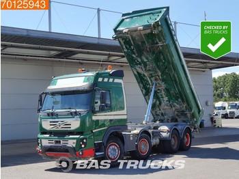 Volvo FMX 500 8X4 VEB+ Big-Axle Steelsuspension 2-Seiten Euro 5 - billenőplatós teherautó