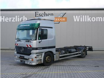 Cserefelépítményes teherautó Mercedes-Benz 1835 LL, 4x2, BDF, Klima, Luft
