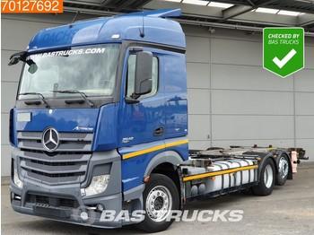 Mercedes-Benz Actros 2542 6X2 Retarder Liftachse ACC 2x Tanks StreamSpace Euro 6 - cserefelépítményes teherautó