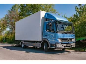 Mercedes-Benz Atego klima 818 LKW Koffer m.Ladebordwand - dobozos felépítményű teherautó