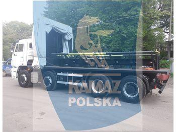KAMAZ 8x4 for transporting steel coils - platos teherautó
