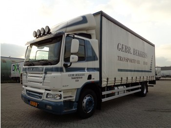 Ponyvás teherautó DAF CF65.220, Eur 5 EEV, NL Truck, Like NEW, TOP!!