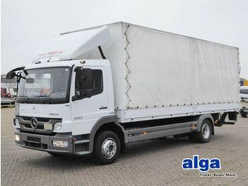 Ponyvás teherautó Mercedes-Benz 1222 L Atego/7,1 m. lang/AHK/LBW