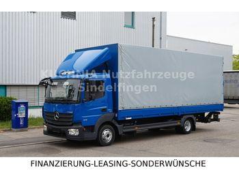 Ponyvás teherautó Mercedes-Benz Atego 818L Pritsche 7,22m LBW Klima Euro-6