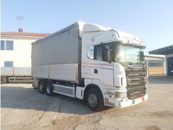 SCANIA R580 CENTINATA E RIBALTABILE - ponyvás teherautó