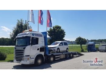 Scania G410LB8X26MLB Bagger / Maschinen / Bühnentransport - ponyvás teherautó