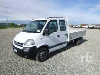 OPEL MOVANO Crew Cab - síkplatós teherautó