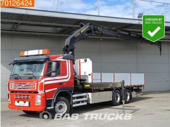 Volvo FM 400 6X2 Crane Kran Euro 5 Palfinger - síkplatós teherautó
