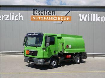 MAN TGL 12.220 BL, Lindner & Fischer A3, Oben  - tartályos teherautó
