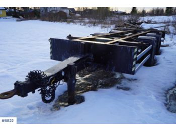 HFR 2 axle container trailer - container-transport/ vekselflak tilhenger