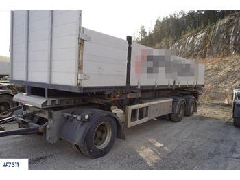 HFR Containerhenger - container-transport/ vekselflak tilhenger