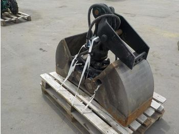 Kinshofer 12'' Hydraulic Rotating Clamshell Bucket to suti MS03 - gripskopa