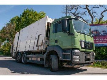 MAN TGS 28.320 6x2-4 BL Müllpresswagen Faun - szemetesautó