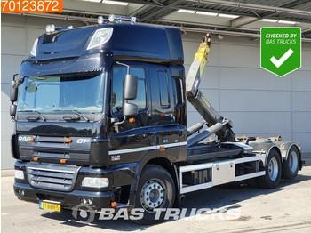 DAF CF85.410 6X2 SC Liftachse Palift T22 Euro 5 - kontejnerski tovornjak/ tovornjak z zamenljivim tovoriščem