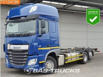 DAF XF 510 6X2 SSC Liftachse Intarder ACC Standklima Euro 6 - kontejnerski tovornjak/ tovornjak z zamenljivim tovoriščem