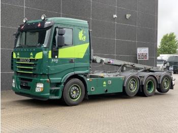 Iveco Iveco Stralis AS320S50X 8x2 - kontejnerski tovornjak/ tovornjak z zamenljivim tovoriščem