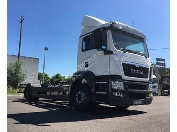 MAN MAN TGS 18.400 - kontejnerski tovornjak/ tovornjak z zamenljivim tovoriščem