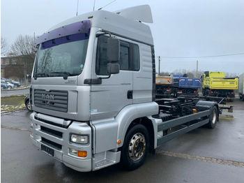 MAN  TGA18.390 BDF  - kontejnerski tovornjak/ tovornjak z zamenljivim tovoriščem