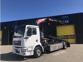MAN TGM 15.240 - kontejnerski tovornjak/ tovornjak z zamenljivim tovoriščem