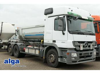 Mercedes-Benz 2541 L Actros 6x2, Falt LBW, Voith Retarder, ADR  - kontejnerski tovornjak/ tovornjak z zamenljivim tovoriščem