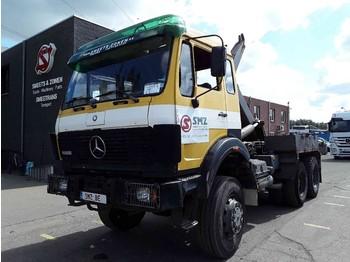 Mercedes-Benz S 2628 6x6 belgium truck - kontejnerski tovornjak/ tovornjak z zamenljivim tovoriščem