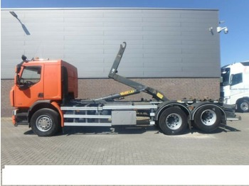 Kontejnerski tovornjak/ tovornjak z zamenljivim tovoriščem RENAULT 380 DXI 6x2 GANCHO