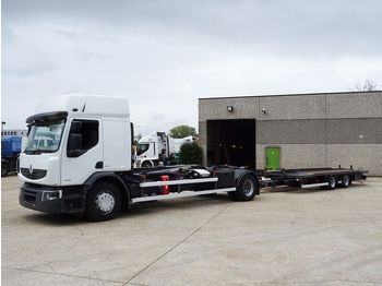 Renault PREMIUM 430 DXI 4X2 containersysteem - haaksysteem - kontejnerski tovornjak/ tovornjak z zamenljivim tovoriščem