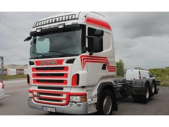 Scania R500LB6X2HNB  - kontejnerski tovornjak/ tovornjak z zamenljivim tovoriščem