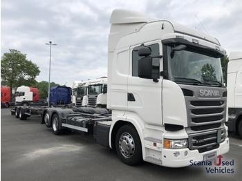 Scania R 410 LB6X2MLB - kontejnerski tovornjak/ tovornjak z zamenljivim tovoriščem