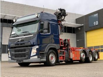 Volvo FM500 8x2-4 Euro 6 - kontejnerski tovornjak/ tovornjak z zamenljivim tovoriščem