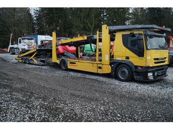 Iveco Stralis 190S42 EEV mit Kässbohrer Variotrans  - tovornjak avtotransporter
