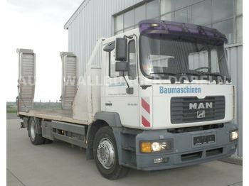 MAN 18.280 LE Baumaschinentransporter + Rampen  - tovornjak avtotransporter