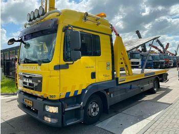 MAN TGL 12.250 4X2 EEV + OMARS 3 LADER  - tovornjak avtotransporter