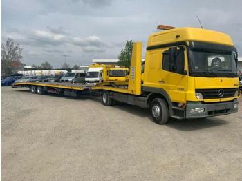 Mercedes-Benz - 1228L Motor überholt 2 Liegen Grüne Plakette - tovornjak avtotransporter