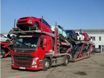Volvo FM 460 + Eurolohr 2.53 WXS, 3 Stk  - tovornjak avtotransporter