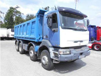 Tovornjak prekucnik Renault KERAX 420 DCI 8x4 dreiseitenkipper: slika 1