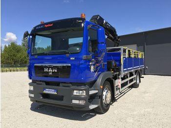 MAN TGM 18.250 E5 TGL , TGS , TGX + KRAN HMF 1420 K2 - tovornjak s kesonom