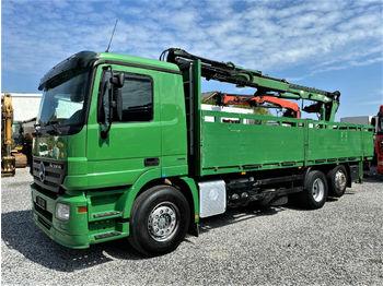 Tovornjak s kesonom Mercedes-Benz 2548 L 6x2 Actros Baustoff ATLAS 140.1 Euro5