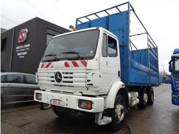 Tovornjak s kesonom Mercedes-Benz SK 2524 6x2 manual
