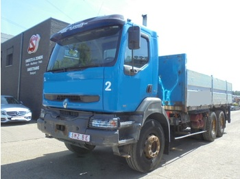 Tovornjak s kesonom Renault Kerax 340 manual pump