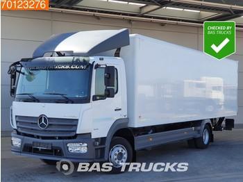 Tovornjak zabojnik Mercedes-Benz Atego 1218 4X2 Ladebordwand ClassisSpace Euro 6