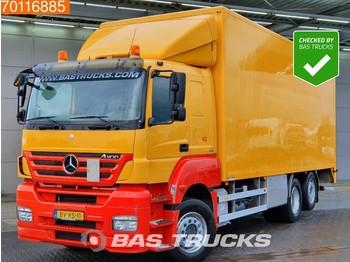 Tovornjak zabojnik Mercedes-Benz Axor 2536 L 6X2 Manual Liftachse Ladebordwand Euro 5