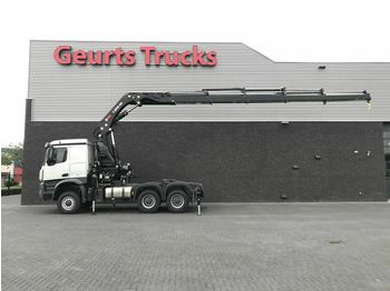 Mercedes-Benz AROCS 3345 AS 6X6 + HIAB X-HIPRO 558 EP-5 kran/k  - tractor truck