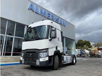 Tractor truck RENAULT T460 4X2. TRACTORA AUTOMATICA + RETARDER. COLOR BLANCO. ADR
